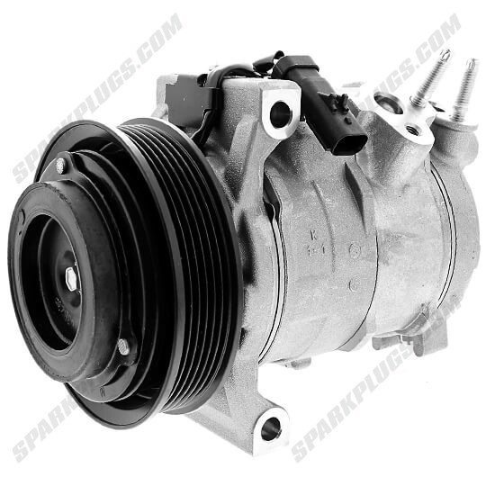 Picture of Denso 471-0833 New A/C Compressor with Clutch