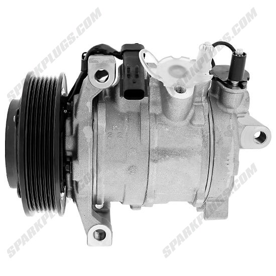 Picture of Denso 471-0835 New A/C Compressor with Clutch