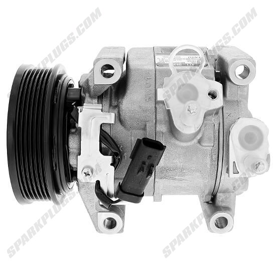 Picture of Denso 471-0836 New A/C Compressor with Clutch