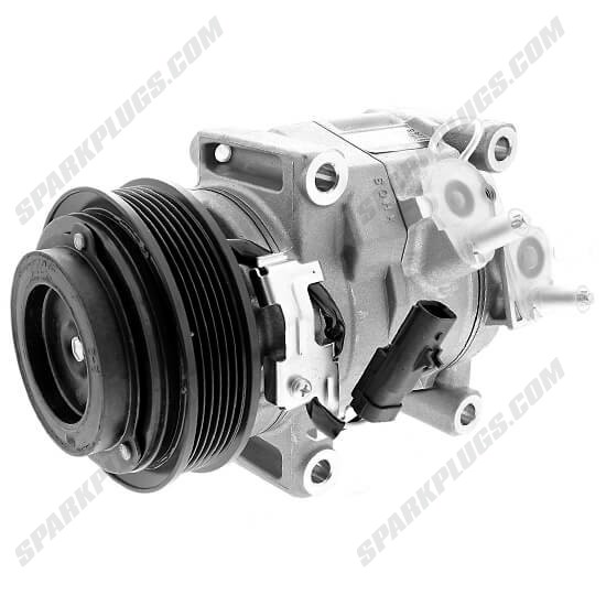 Picture of Denso 471-0837 New A/C Compressor with Clutch