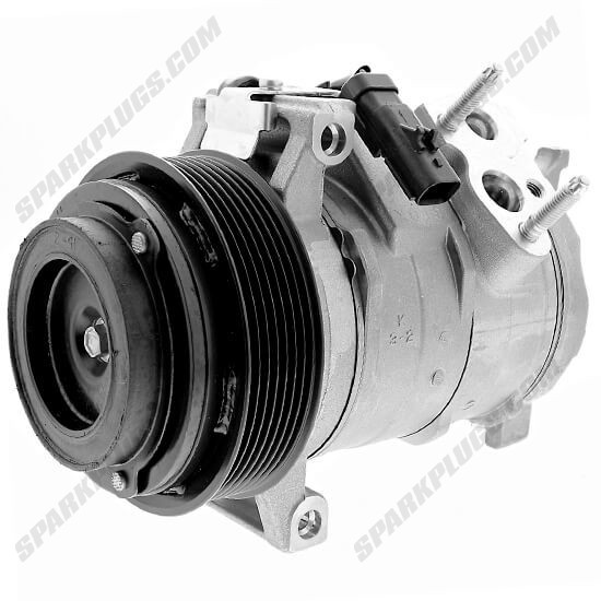 Picture of Denso 471-0873 New A/C Compressor with Clutch