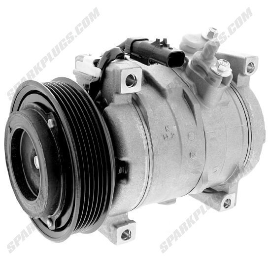 Picture of Denso 471-0874 New A/C Compressor with Clutch