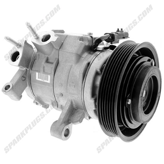 Picture of Denso 471-0877 New A/C Compressor with Clutch