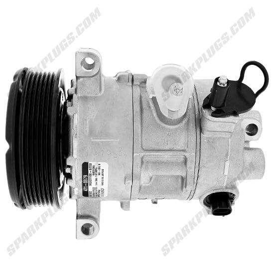 Picture of Denso 471-0879 New A/C Compressor with Clutch