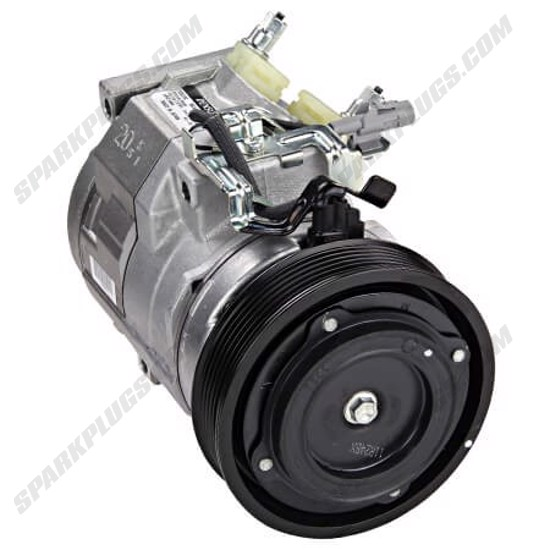 Picture of Denso 471-1010 New A/C Compressor with Clutch