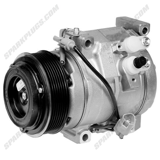 Picture of Denso 471-1011 New A/C Compressor with Clutch