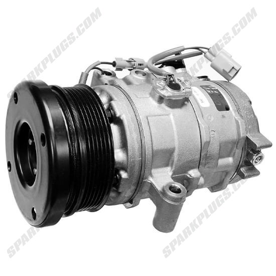 Picture of Denso 471-1014 New A/C Compressor with Clutch