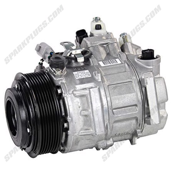 Picture of Denso 471-1017 New A/C Compressor with Clutch