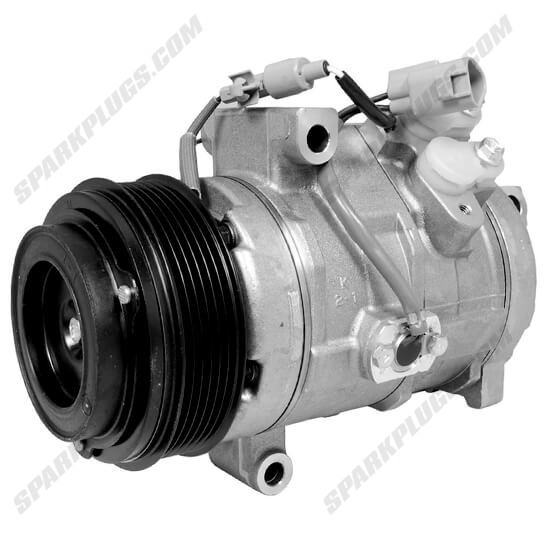 Picture of Denso 471-1025 New A/C Compressor with Clutch