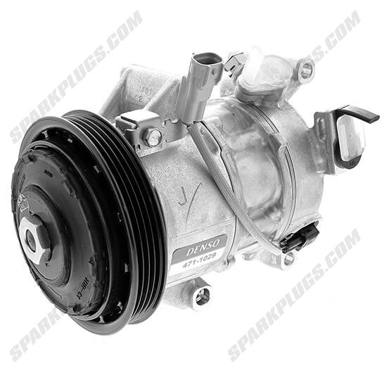 Picture of Denso 471-1029 New A/C Compressor with Clutch