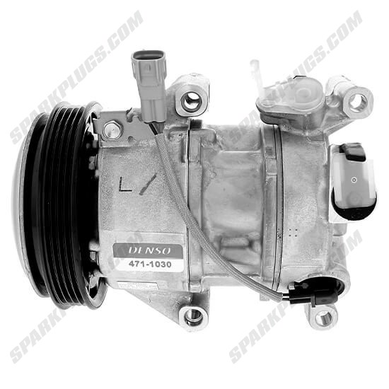 Picture of Denso 471-1030 New A/C Compressor with Clutch