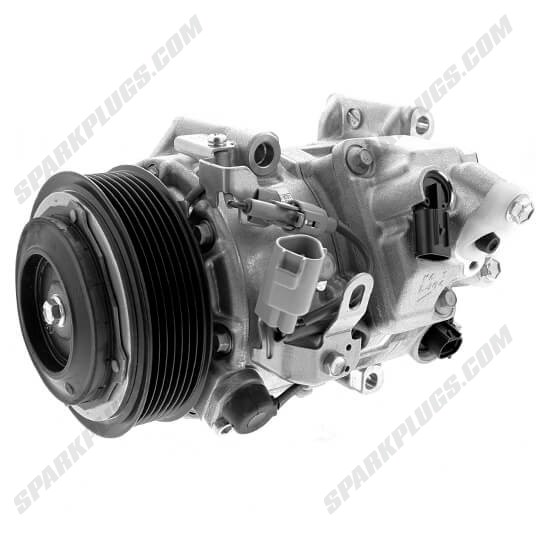 Picture of Denso 471-1031 New A/C Compressor with Clutch