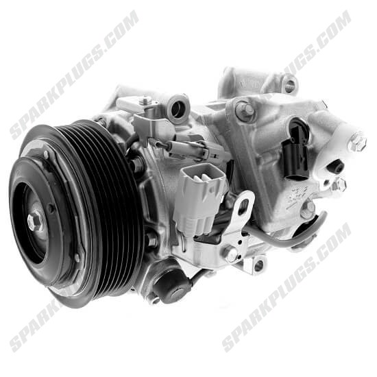 Picture of Denso 471-1033 New A/C Compressor with Clutch