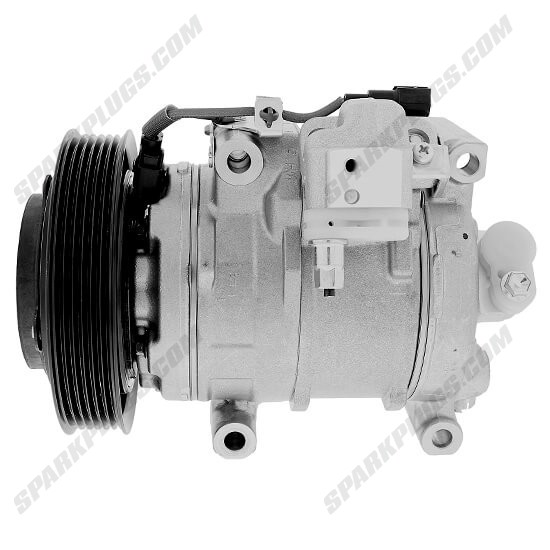 Picture of Denso 471-1047 New A/C Compressor with Clutch