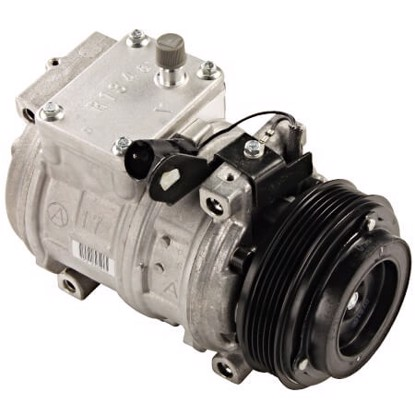Picture of Denso 471-1114 New A/C Compressor with Clutch