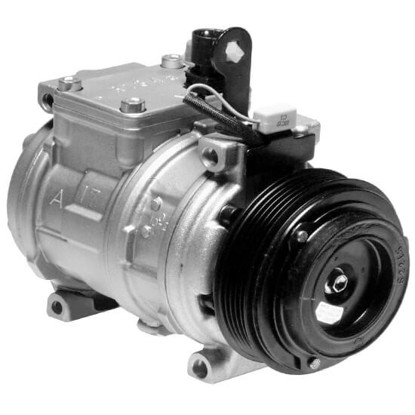 Picture of Denso 471-1115 New A/C Compressor with Clutch