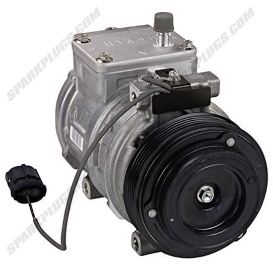 Picture of Denso 471-1116 New A/C Compressor with Clutch