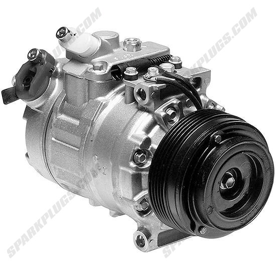 Picture of Denso 471-1118 New A/C Compressor with Clutch