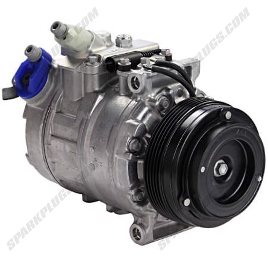 Picture of Denso 471-1119 New A/C Compressor with Clutch