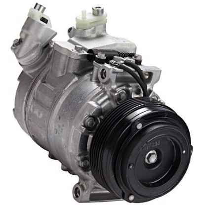 Picture of Denso 471-1121 New A/C Compressor with Clutch