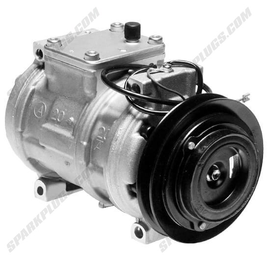Picture of Denso 471-1123 New A/C Compressor with Clutch