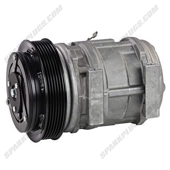 Picture of Denso 471-1125 New A/C Compressor with Clutch