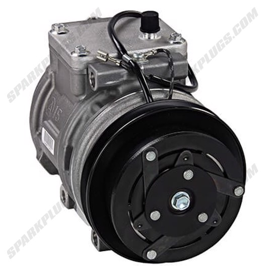 Picture of Denso 471-1129 New A/C Compressor with Clutch