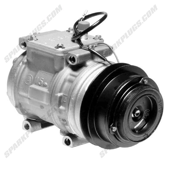 Picture of Denso 471-1130 New A/C Compressor with Clutch