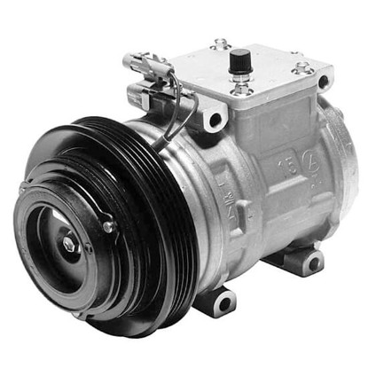Picture of Denso 471-1138 New A/C Compressor with Clutch