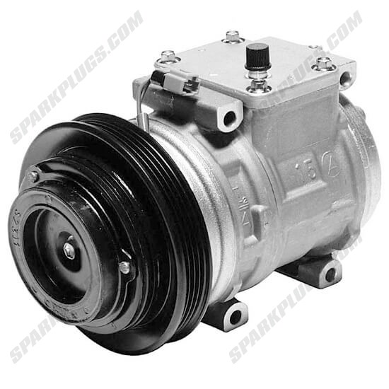 Picture of Denso 471-1140 New A/C Compressor with Clutch