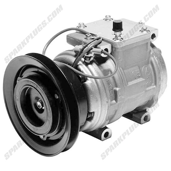 Picture of Denso 471-1142 New A/C Compressor with Clutch