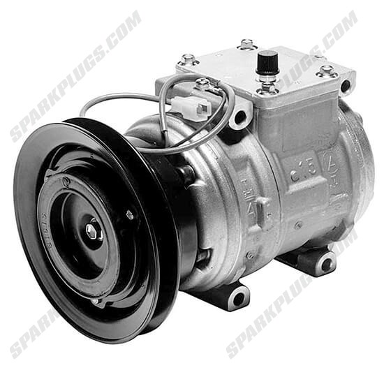 Picture of Denso 471-1143 New A/C Compressor with Clutch