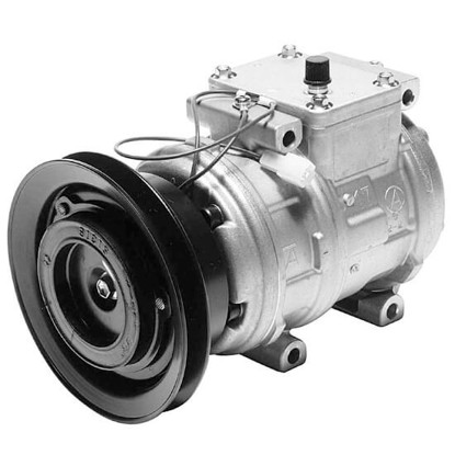 Picture of Denso 471-1144 New A/C Compressor with Clutch
