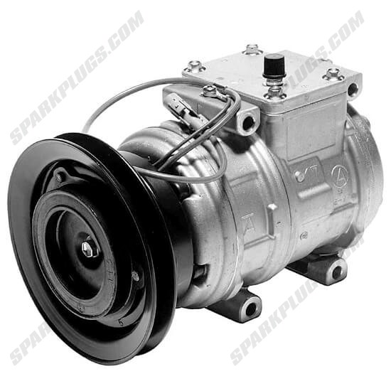 Picture of Denso 471-1145 New A/C Compressor with Clutch