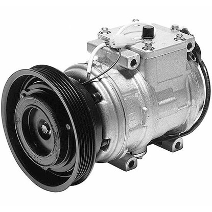 Picture of Denso 471-1146 New A/C Compressor with Clutch