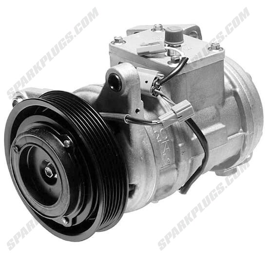 Picture of Denso 471-1152 New A/C Compressor with Clutch