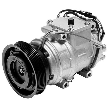 Picture of Denso 471-1155 New A/C Compressor with Clutch