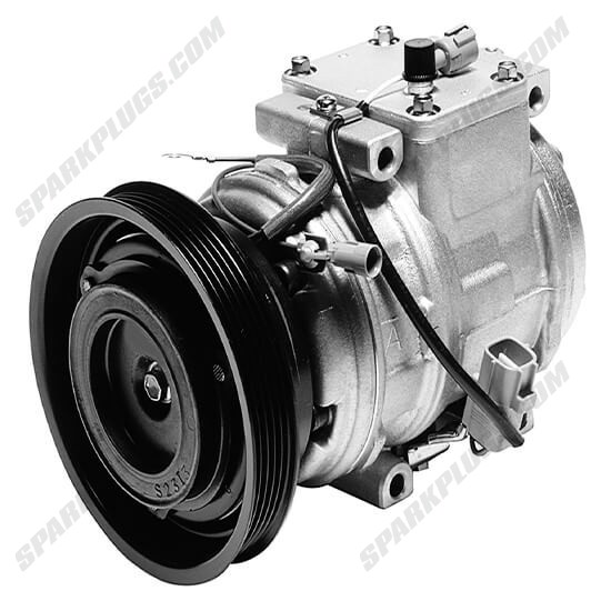 Picture of Denso 471-1156 New A/C Compressor with Clutch