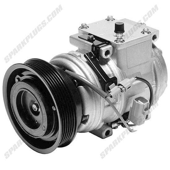 Picture of Denso 471-1158 New A/C Compressor with Clutch