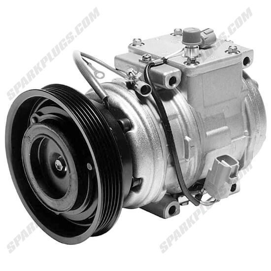 Picture of Denso 471-1160 New A/C Compressor with Clutch