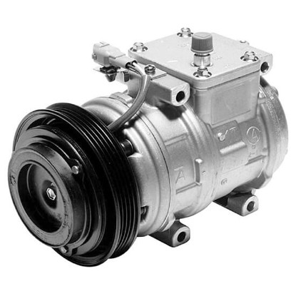Picture of Denso 471-1163 New A/C Compressor with Clutch