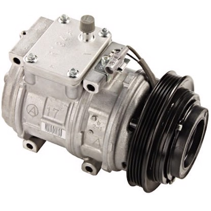 Picture of Denso 471-1164 New A/C Compressor with Clutch