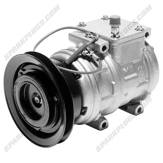 Picture of Denso 471-1165 New A/C Compressor with Clutch
