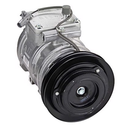 Picture of Denso 471-1166 New A/C Compressor with Clutch