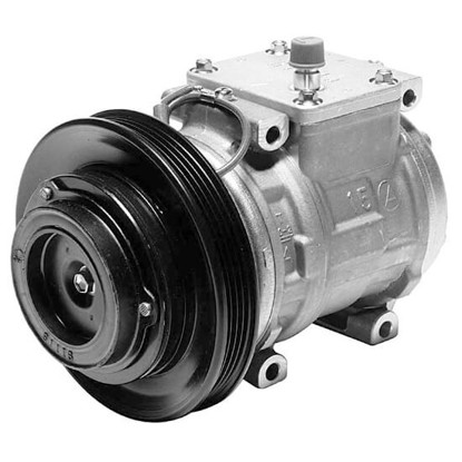 Picture of Denso 471-1169 New A/C Compressor with Clutch