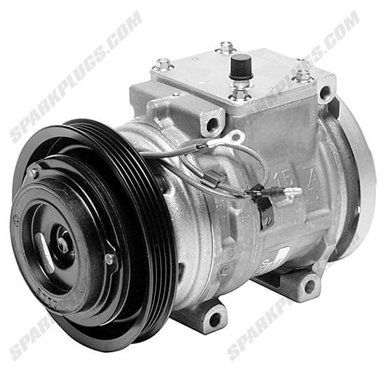 Picture of Denso 471-1171 New A/C Compressor with Clutch