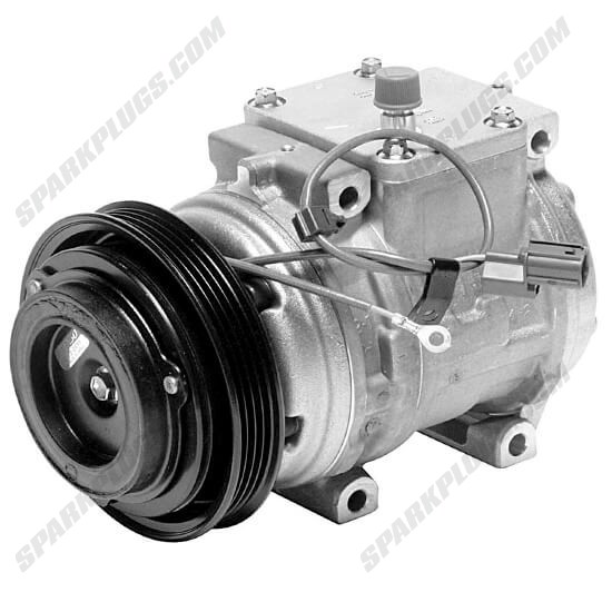 Picture of Denso 471-1174 New A/C Compressor with Clutch