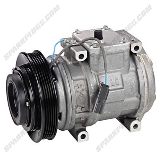 Picture of Denso 471-1181 New A/C Compressor with Clutch