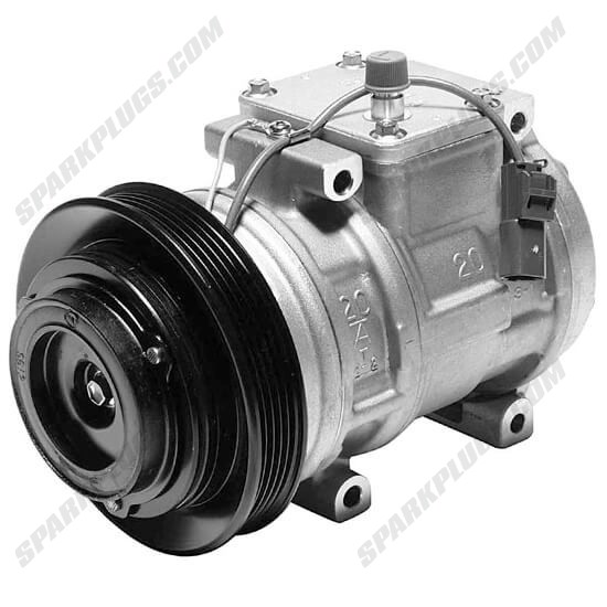 Picture of Denso 471-1182 New A/C Compressor with Clutch
