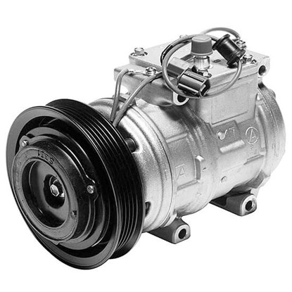 Picture of Denso 471-1189 New A/C Compressor with Clutch